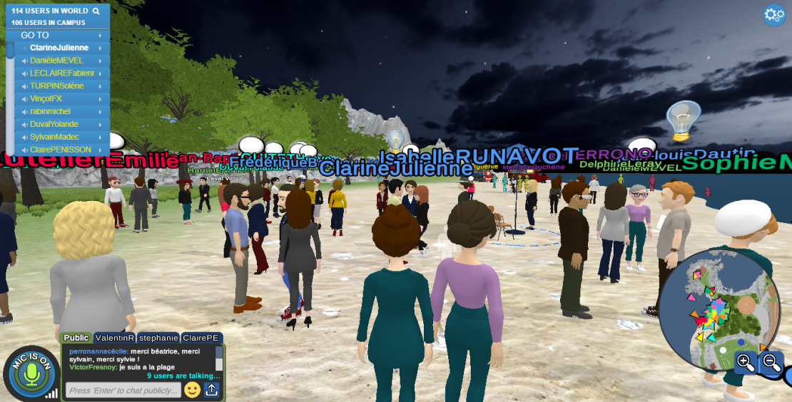 photo capture laval virtual world plage cérémonie 2020